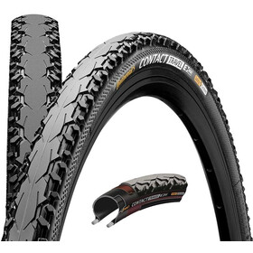 "Continental Contact Travel Folding Tyre 28"" E-25 DuraSkin black"